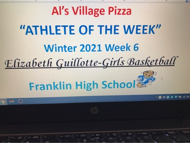 Al's Village Pizza and FHS Female Athlete Of The Week