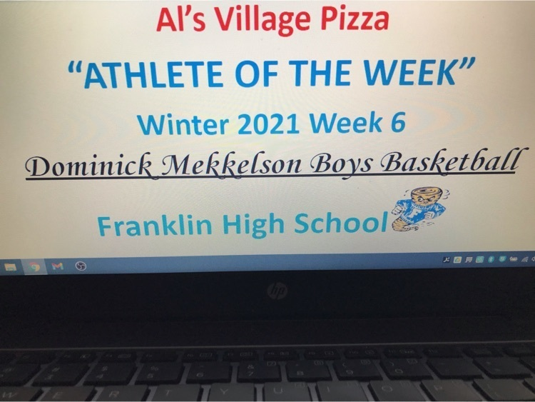 Al's Village Pizza and FHS Male Athlete Of The Week