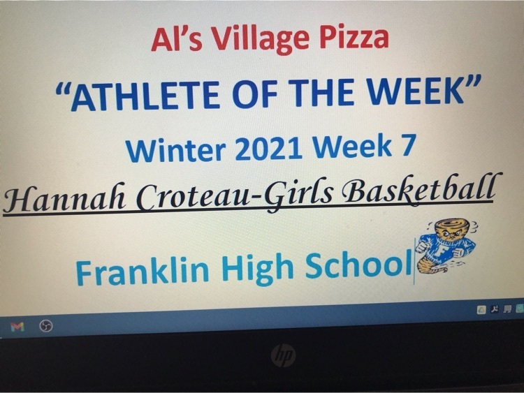 Female Athlete Of The Week