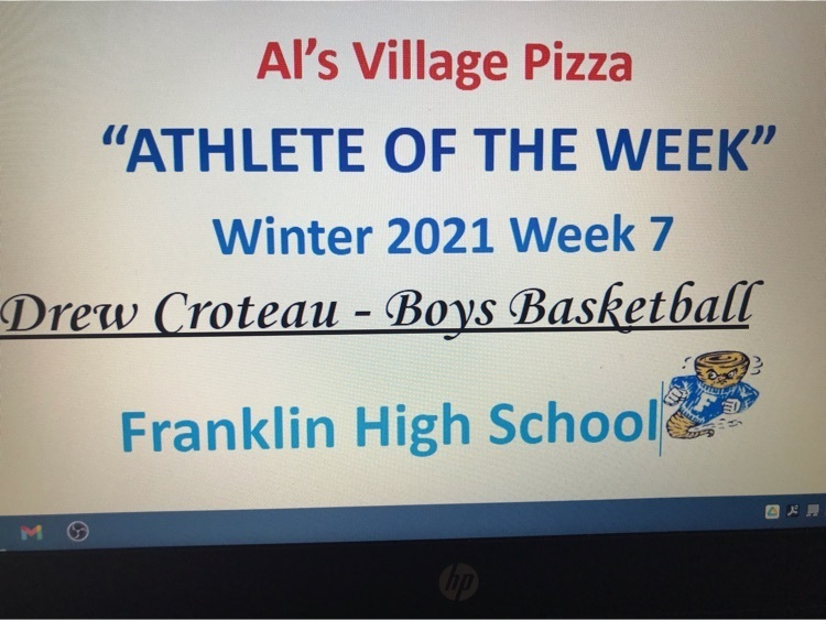 Male Athlete Of The Week